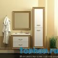 Мебель для ванной Opadiris Карат 80 золото