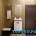 Мебель для ванной Opadiris Тора 50 белый/венге